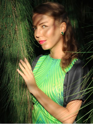"FW'15 ""Džungli kleit"""
