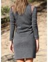 """FW'15 """"Müstiline hall kleit"""""""