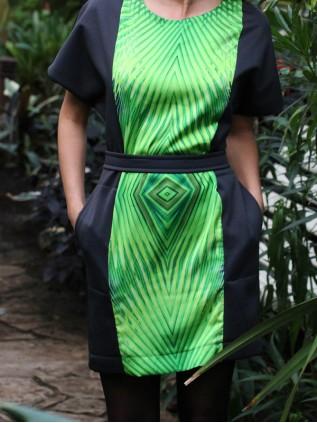 "FW'15 ""Taskutega džungli kleit"""